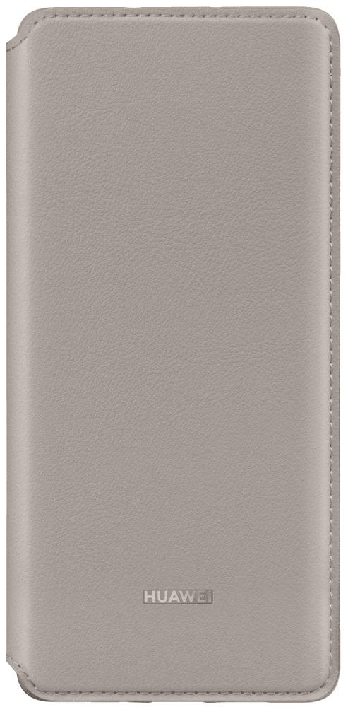 Pouzdro Huawei P30 Wallet Cover Khaki