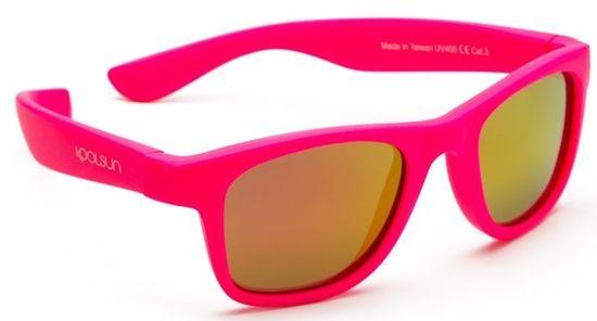 Koolsun przeciwsłoneczne okulary chłopięce Wave Noen 1-3