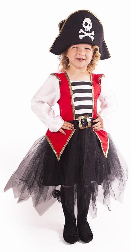 Rappa Kostým pirátka vel. L