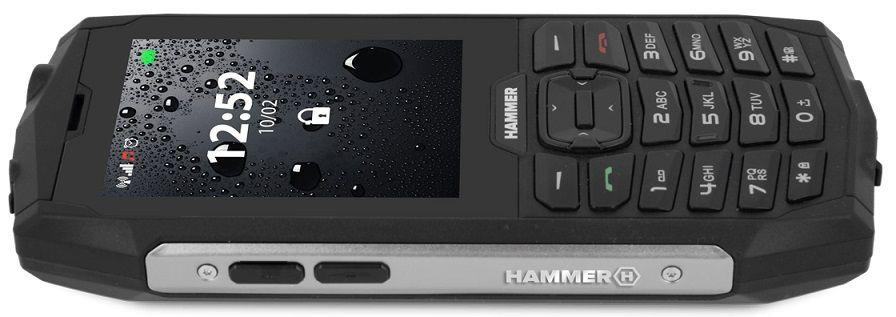 myPhone Hammer 4, stříbrný
