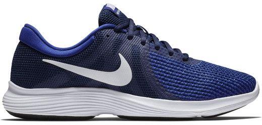 c66fbe8e289d Nike Men S Revolution 4 Midnight Navy White-Deep Royal Blue 43