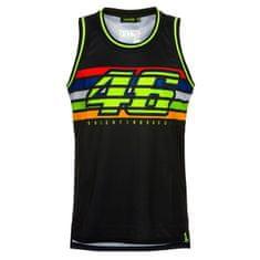 Valentino Rossi VR46 Stripes Tank Top majica brez rokavov, XS/S, črna