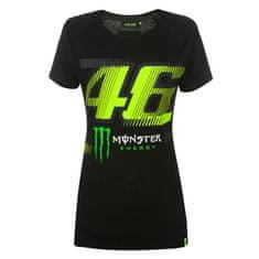 Valentino Rossi VR46 Monster Monza ženska majica, XS, črna