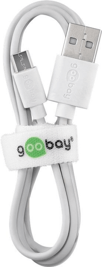 Goobay micro USB kabel za polnjenje in sinhronizacijo 1m