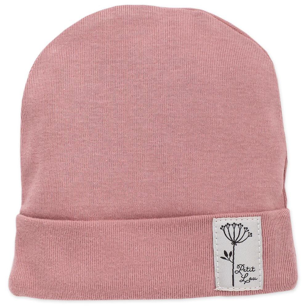 PINOKIO dívčí čepice Petit Lou 74 růžová