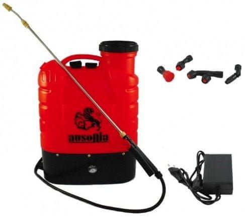 Ausonia nahrbtna baterijska škropilnica 16L, LI-ION 38018