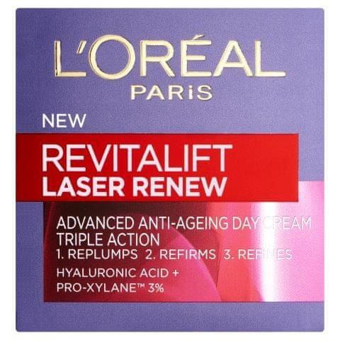 Loreal Paris dnevna krema proti gubam Revitalift Laser Renew, 50 ml
