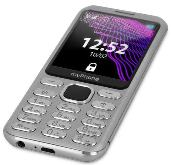 myPhone Maestro, stříbrný