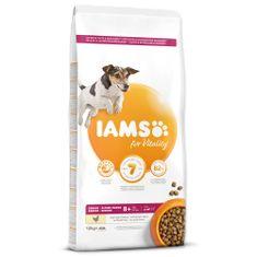 IAMS sucha karma Dog Senior Small&Medium Chicken 12 kg