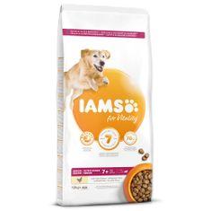 IAMS sucha karma Dog Senior Large Chicken 12 kg