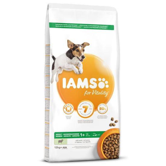 IAMS Dog Adult Small&Medium Lamb 12 kg