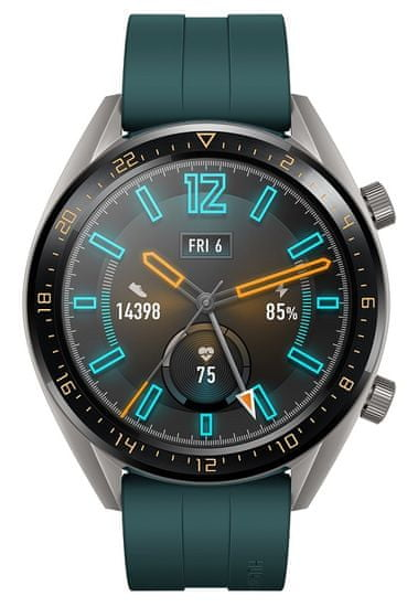 Huawei pametna ura Watch GT, temno zelena