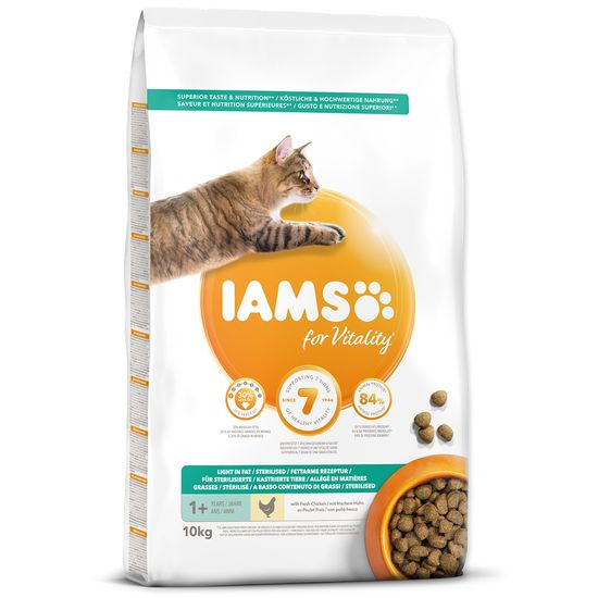 IAMS Cat Adult Weight Control Chicken 10 kg