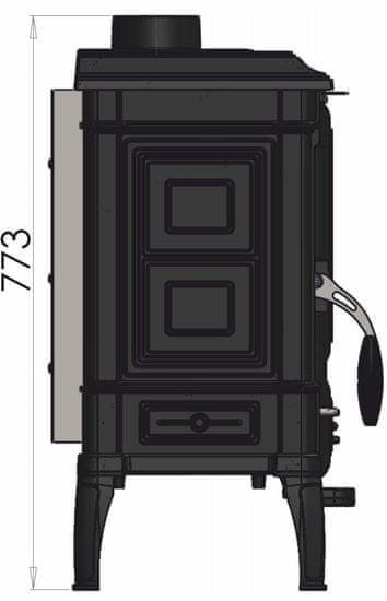Guča kamin ARINA 1110