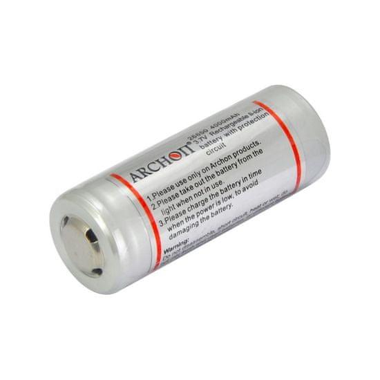 ARCHON Akumulátor Li-Ion 26650 3700 mAh