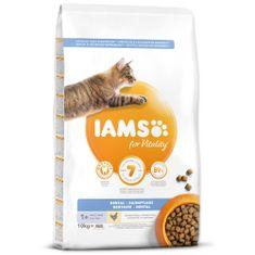 IAMS hrana za mačke Cat Adult Dntl Chicken, 10 kg