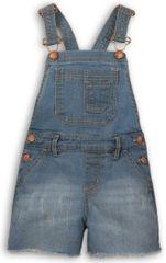 Minoti dekleta kratke hlače z naramnicami, 68 - 74, modre