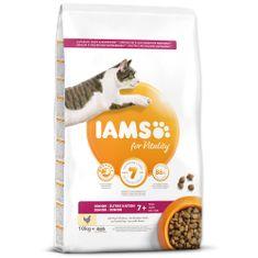 IAMS hrana za mačke Cat Senior Chicken 10 kg