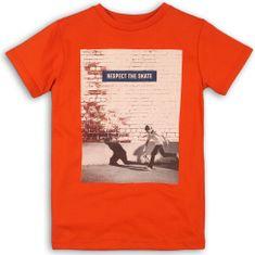 Minoti dječja majica kratkih rukava, crvena, 134