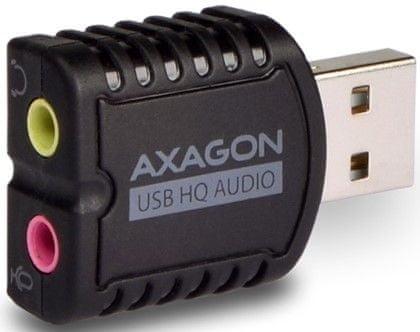 AXAGON ADA-17, USB 2.0 Stereo HQ Audio MINI adaptér