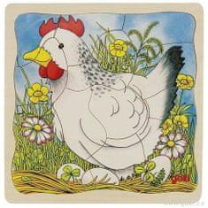 Goki kokoška – razvojna večplastna sestavljanka