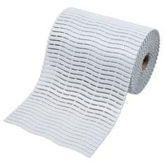 Bílá bazénová rohož Soft-Step - 15 m x 60 cm x 0,9 cm