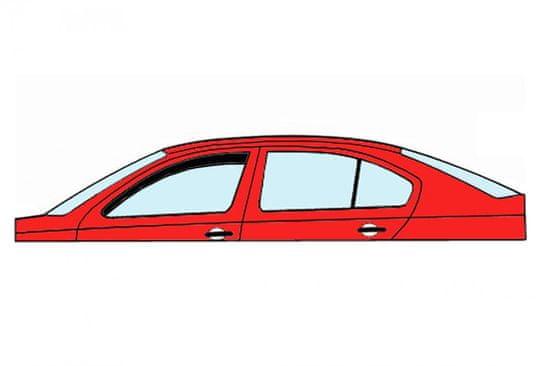 HEKO Deflektory okien Citroen C1 2014- (5 dverí, 2 díly, predné)