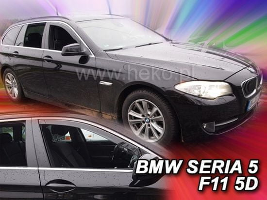 HEKO Deflektory okien BMW 5er 2010-2017 (predné, F11, combi)