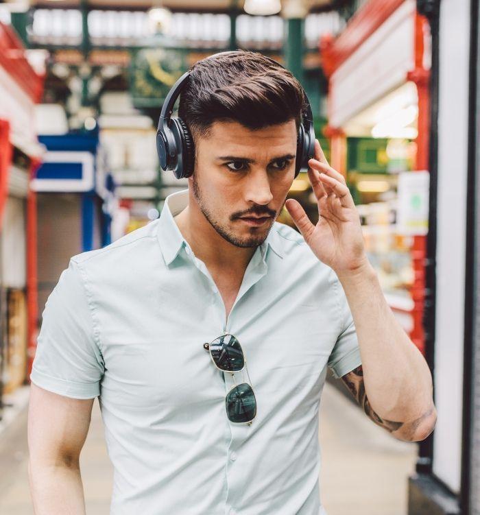 Audio-Technica ATH-SR30BT bezdrátová sluchátka, černá