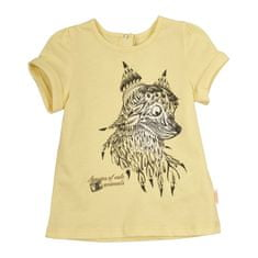 Garnamama dekliška majica, 80, rumena