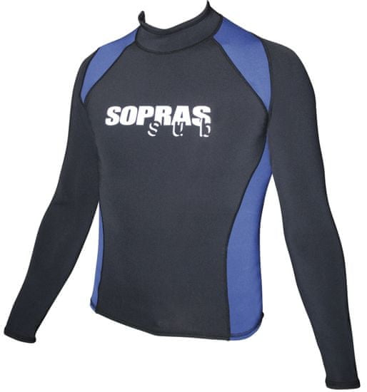 SOPRASSUB Neoprénové tričko - Rash guard - tričko s dlhým rukávom; materiál: 0,5mm Neospan