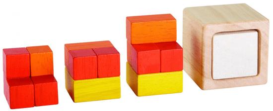 Plan Toys kocka ulomkov
