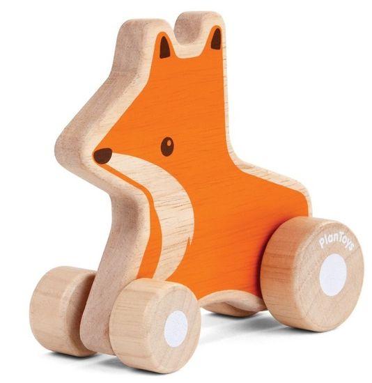 Plan Toys Lis na kółkach