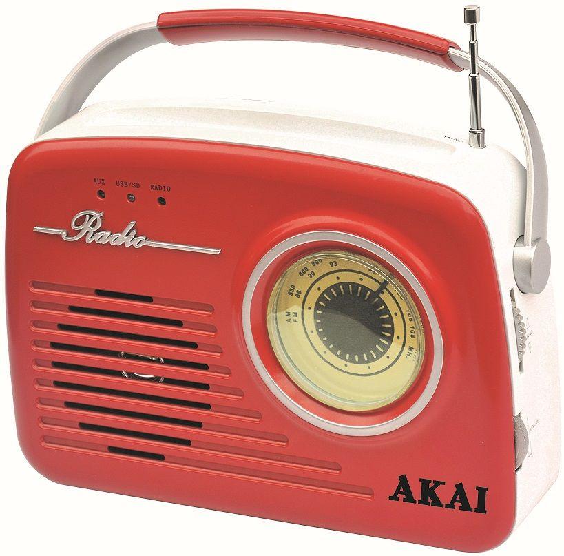 Akai APR-11R/B, červená - použité