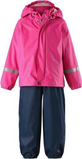Reima dívčí set do deště Tihku 104 růžová