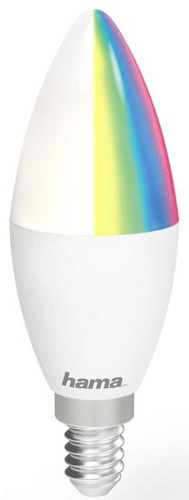 Hama WiFi LED žárovka, E14, RGB