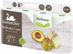 Harmony papier toaletowy DELICATE CARE Avocado 8x8 rolek, 3 warstwy
