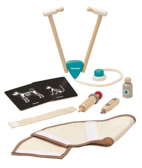 Plan Toys Veterinarski set - Odprta embalaža
