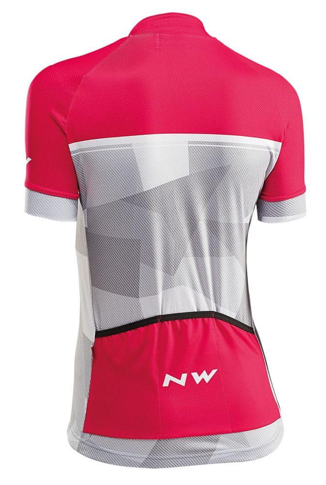 Northwave Origin Woman Jersey Short Sleeves L růžová/šedá