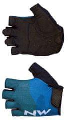 Northwave moške kolesarske rokavice Flag 3 Short Gloves, M, modre