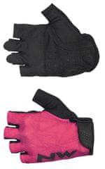 Northwave ženske kolesarske rokavice Flag 3 Woman Short Gloves, L, roza