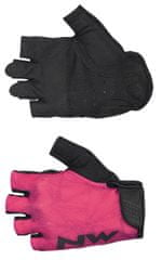 Northwave Flag 3 Woman Short Gloves S różowy