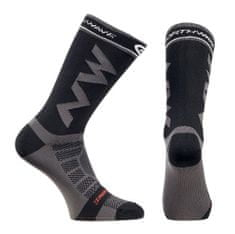 Northwave moške kolesarske nogavice Extreme Light Pro Socks, S, črne/sive