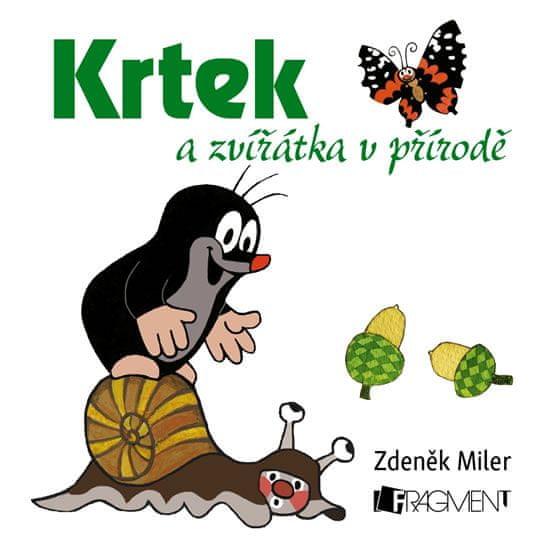 Miler Zdeněk: Krtek a zvířátka v přírodě - leporelo