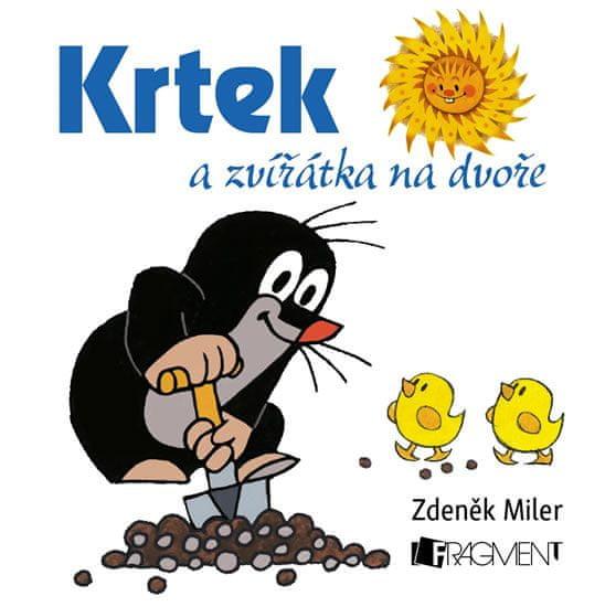 Miler Zdeněk: Krtek a zvířátka na dvoře - leporelo