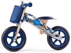 Woody poganjalec z motivom motorja, moder