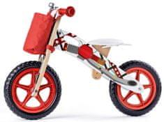 Woody Pedál nélküli gyerek motorkerékpár, piros