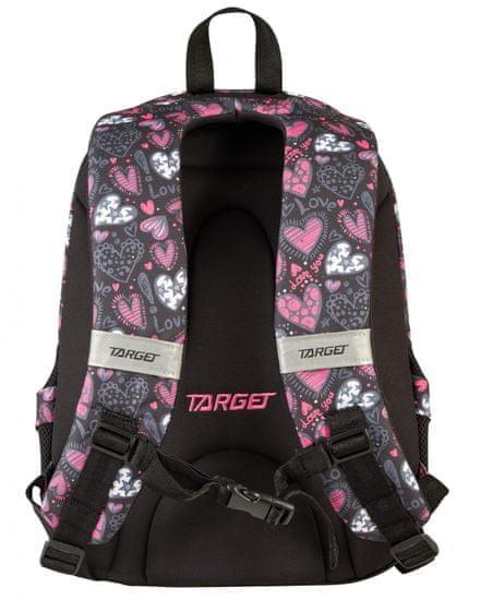 Target ruksak 3 Zip Duel Love You 26293