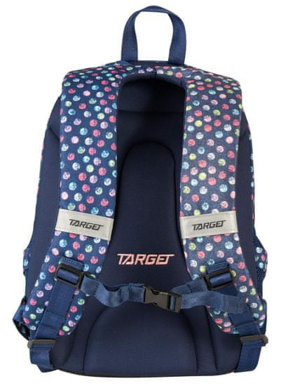 Target ruksak 3 Zip Duel Confetti Jeans 26294
