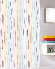 Kleine Wolke Tekstylna zasłona prysznicowa JOLIE 180 x 200 cm multi